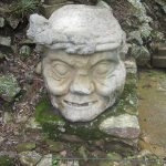 "Featured Travel Photo: Mayan Statue ""The Old Man's Head"""