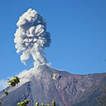 Photo: Volcan de Fuego Erupting!