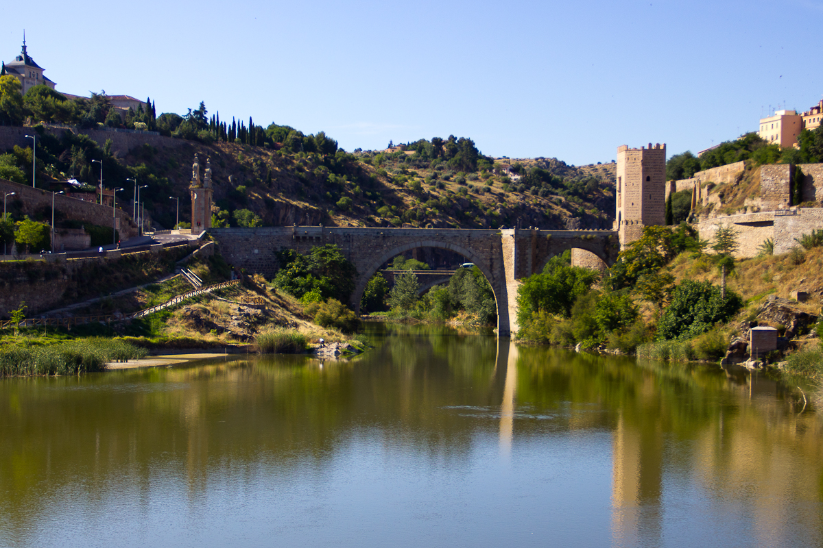 A bridge on the edge of Toledo