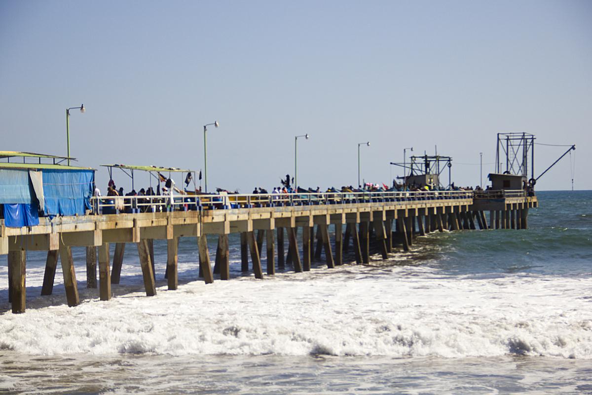 La Libertad Fishing Pier