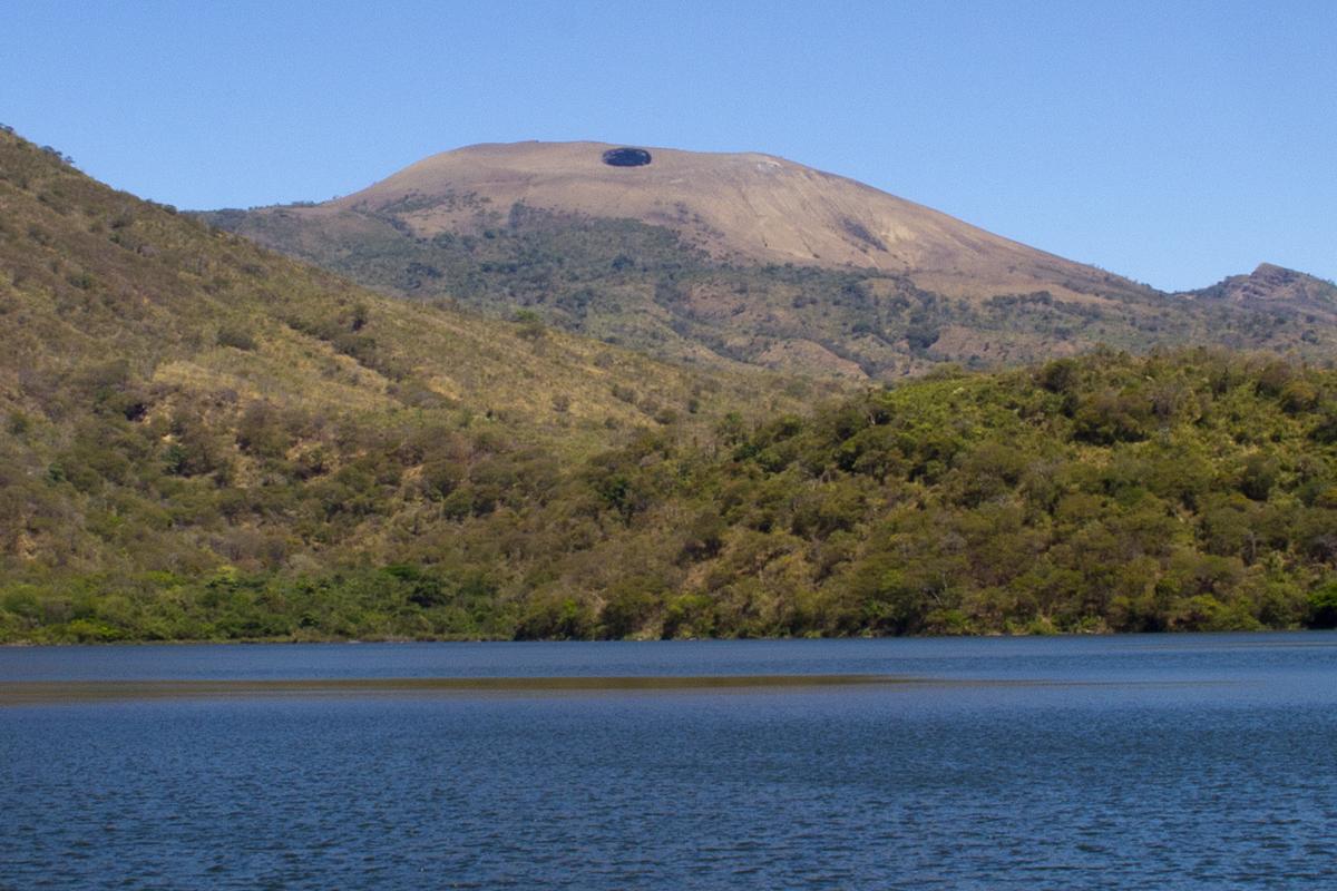 View of Lake Asososca and El Hoyo