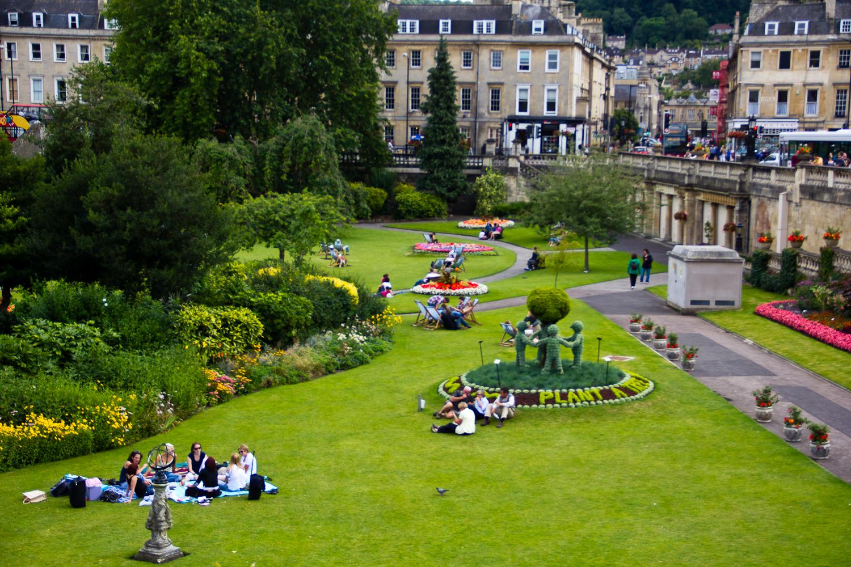 A Garden in Bath